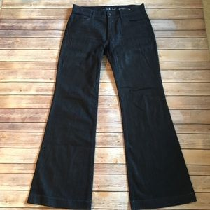 7 For All Mankind 7FAM Ginger Lowrise Flare Jeans